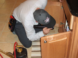 Inspection of Cabinets