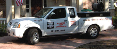 Accutrol Pest Management Truck